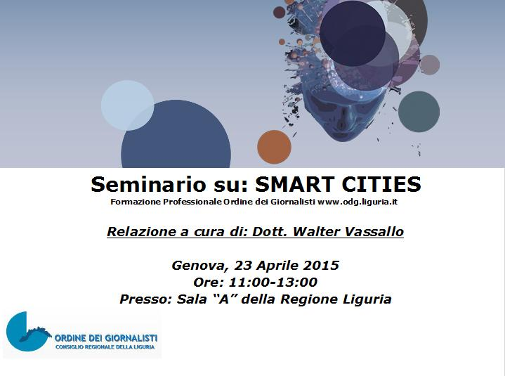 seminario smart city
