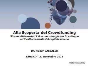 Formazione Crowdfunding Terzo Settore